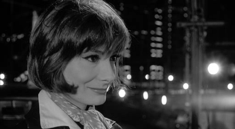 """Rossella Falk in una foto di scena del film """"8 e1/2"""" di Federico Fellini"""