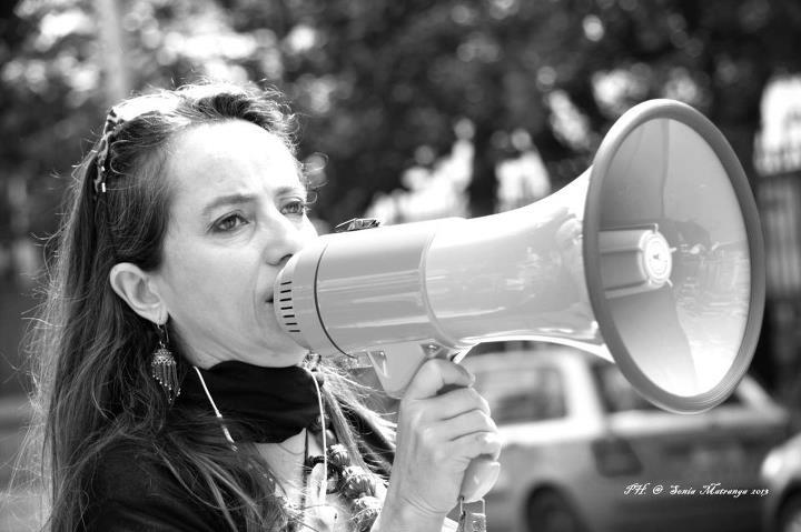 Monica Modica in una foto di Sonia Matranga