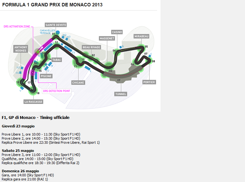 2013_F1_EVENT6_GP_MONACO-SCHEDULE_780X580
