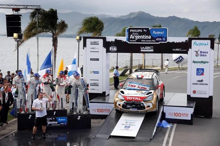 Loeb in trionfo al Rally di Argentina