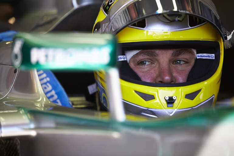 Nico Rosberg in Pole a Montecarlo