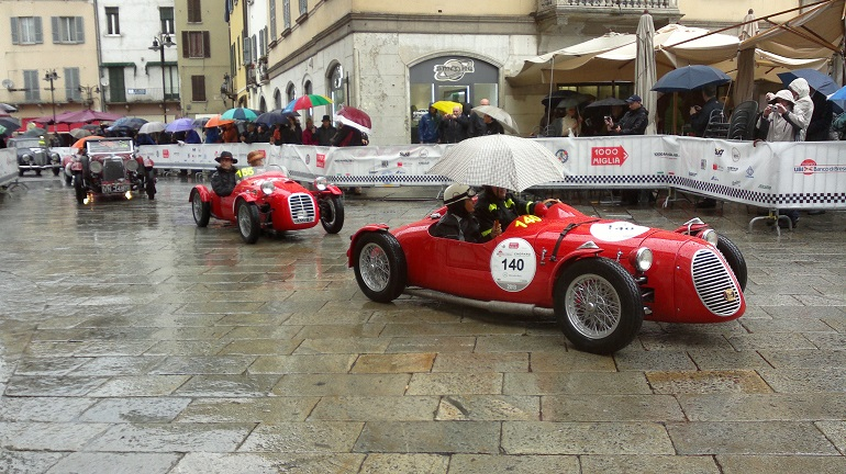 Mille Miglia 2013 - piazza della Loggia (Brescia)