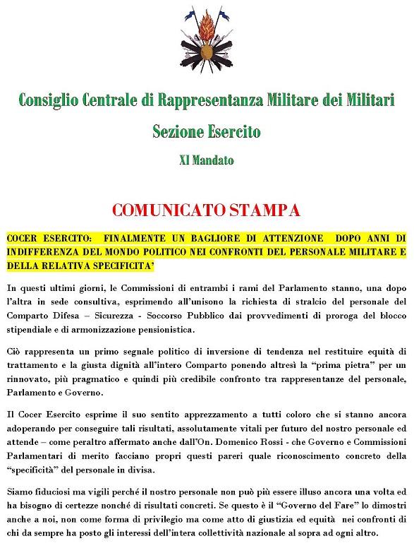 20130620 comunicato stampa cocer ei_700x990