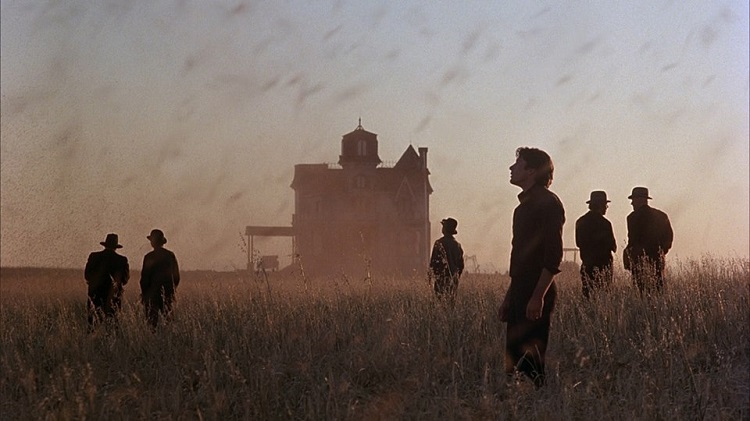 Richard Gere immortalato da Néstor Almendros in un frammento di Days of Heaven.