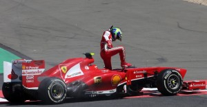 20130707-massa-spin-turn1-gp-germany