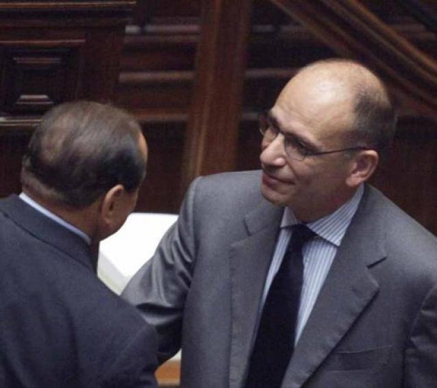 Berlusconi Letta