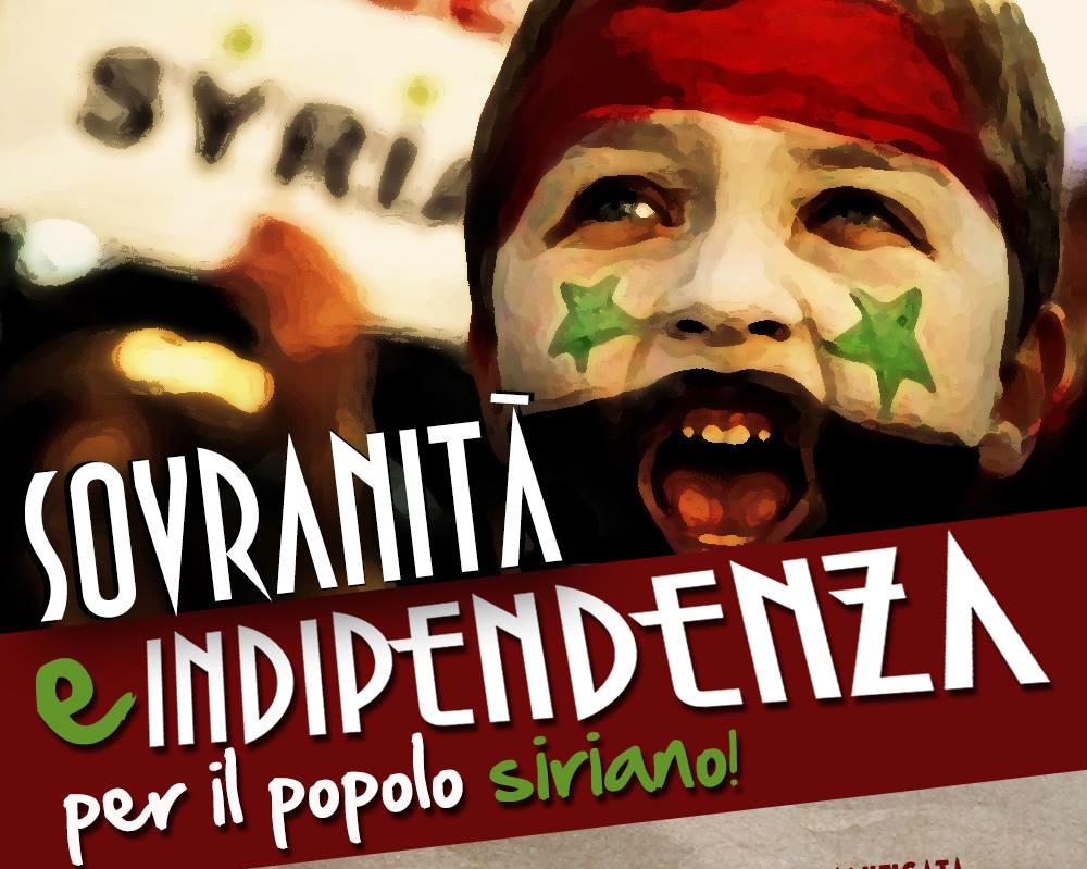 Manifestazione Pro Siria