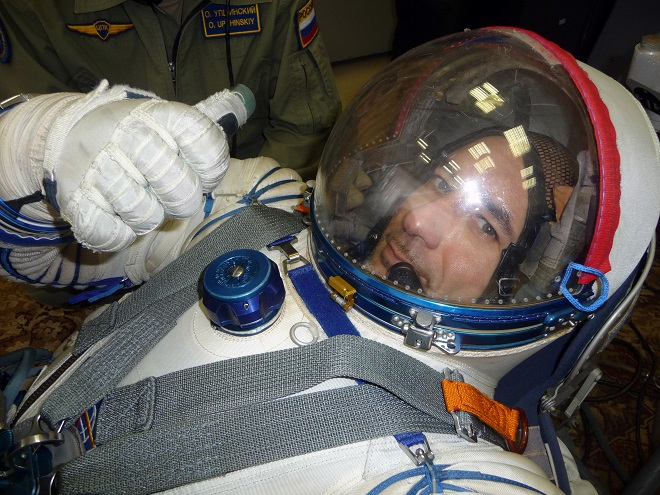 Luca Parmitano (foto ESA/Gagarin Cosmonaut Training Centre)