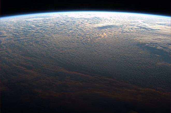 Il Sud America visto dalla Cupola dell'ISS (foto ESA/NASA)