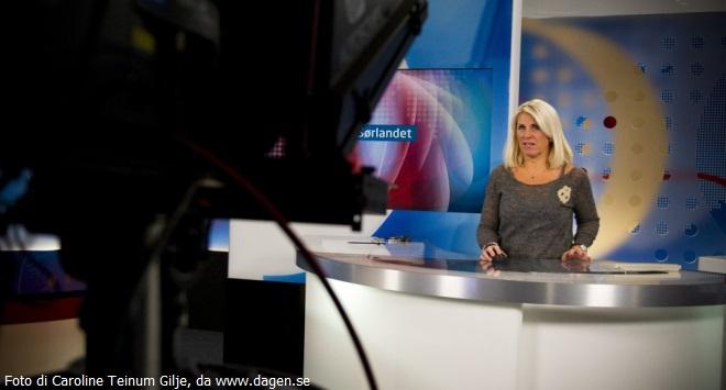 Siv Kristin Sællmann censurata dalla rete NRK per aver indossato una catenina con il Crocifisso