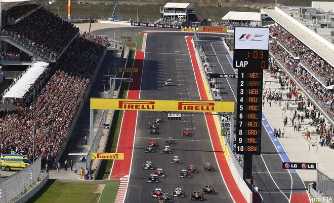 F1 - GRAND PRIX OF THE UNITED STATES 2012
