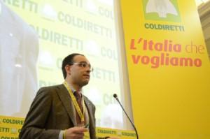 Roberto Moncalvo, ingegnere di 33 anni, è il nuovo presidente della Coldiretti