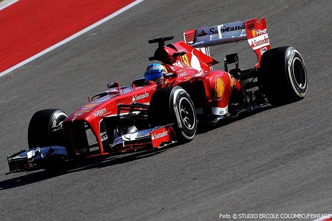 GP USA F1/2013 | FERNANDO ALONSO | Foto © STUDIO ERCOLE COLOMBO/FERRARI