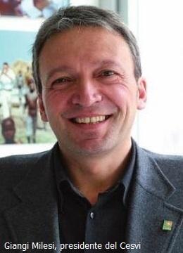 Giangi Milesi, presidente del Cesvi