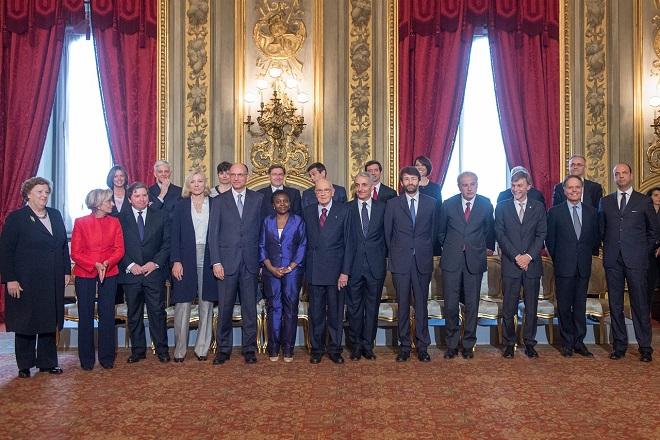 20131202-Letta_Cabinet_with_Giorgio_Napolitano-660x440