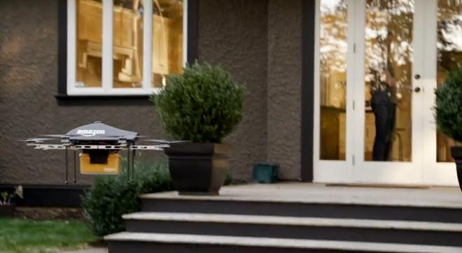 Prime Air, il servizio di consegna dei pacchi con drone, attivo in 4/5 anni