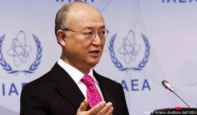 Yukiya Amano, direttore dell'AIEAallarme-Messico-660x385-did