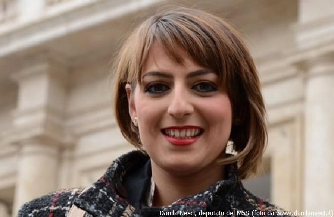 Danila Nesci, deputata del M5S di Vibo Valentia