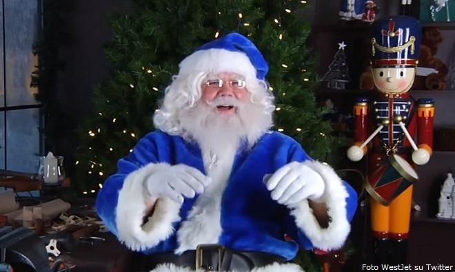 """Christmas Miracle"" da WestJet in Canada"