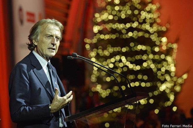 """Luca Cordero di Montezemolo nel discorso di Natale in """"famiglia"""""""