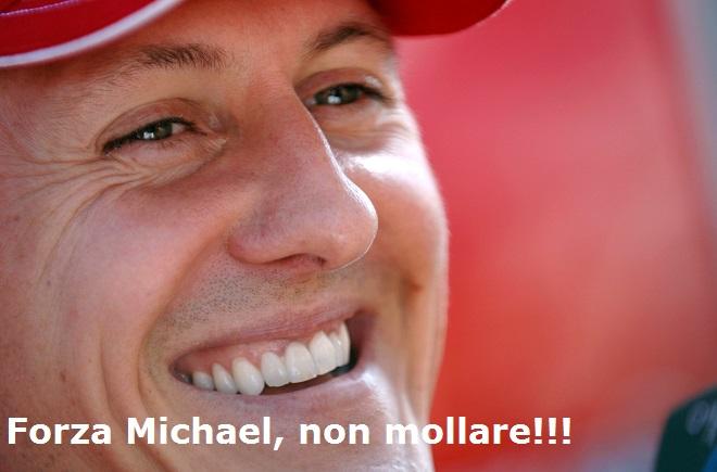 Forza Michael, non mollare!!!