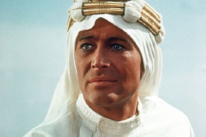 Actor Peter O'Toole as Lawrence of Arabia-1138942