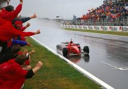 2 giugno 1996, GP Spagna: primo trionfo di Michael Schumacher in Ferrari