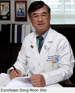 Il professor Dong Moon Shin, coordinatore della ricerca sulla luteina