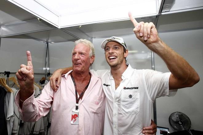 John e Jenson Button nel vittorioso 2009 del primo titolo iridato del pilota britannico