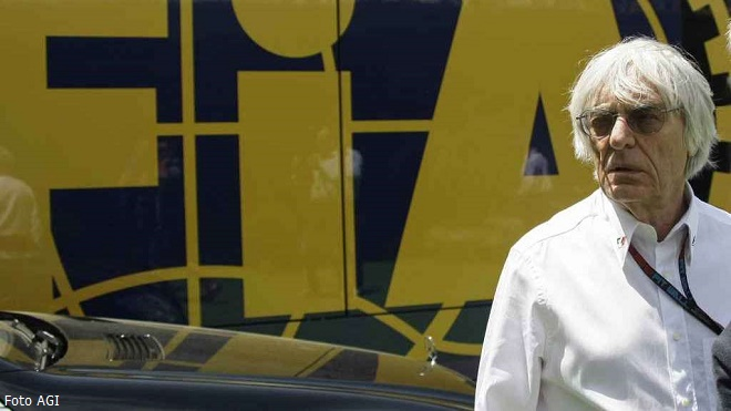 Bernie Ecclestone (Foto AGI)