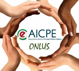 Il logo dell'AICPE, Associazione Italiana di Chirurgia Plastica Estetica