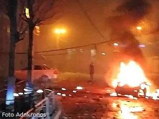 Le prime immagini dell'attentato (Adnkronos)