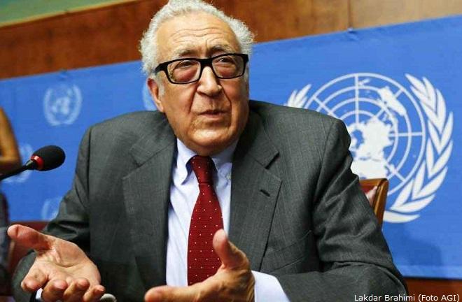 L'inviato speciale di Lega Araba e Onu sulla Siria, il diplomatico algerino Lakdar Brahimi, guiderà il negoziato tra le parti attive in Siria per porre fine al conflitto