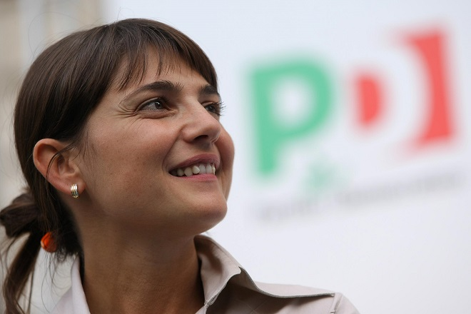 Debora Serracchiani, presidente (PD) del Friuli Venezia-Giulia