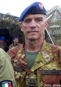 Gen. Div. Giangiacomo Calligaris (foto Ansa)