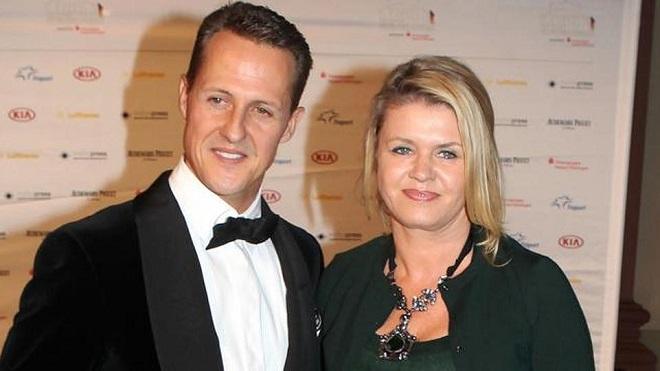 Michael Schumacher e Corinna Betsch