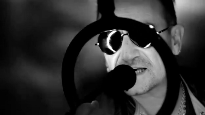 """Bono Vox in """"Invisible"""""""
