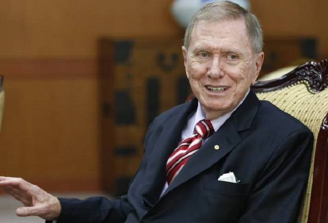 Michael Kirby, Presidente della Commissione di Inchiesta sulla Nord Corea, giurista di fama internazionale ed ex presidente dell'Alta Corte asutraliana
