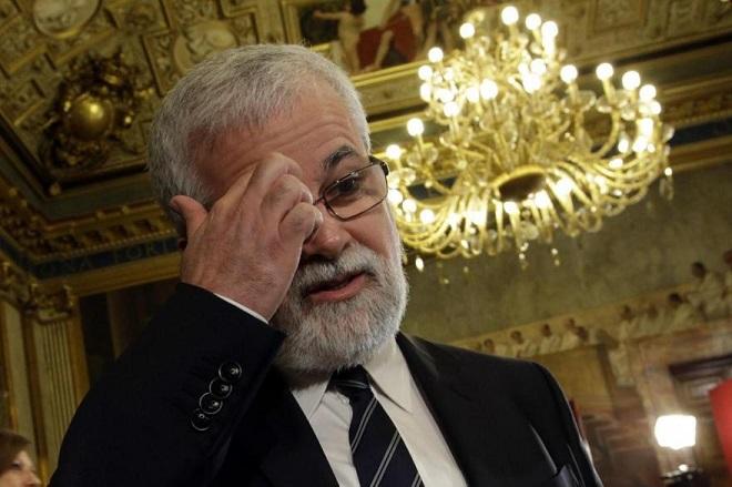 Luis Alberto Orellana, uno dei quattro dissidenti scomunicati dal pontefice minimo di Genova e dei quali si invoca l'espulsione, con voto pubblico sul web (foto dal profilo Twitter di Beppe GRillo)