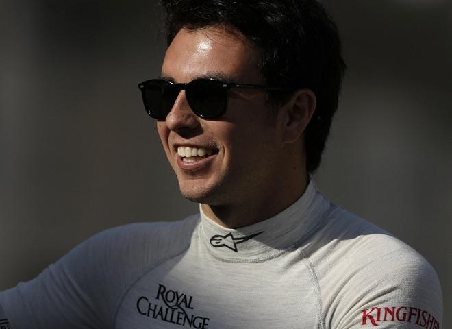 Sergio Perez Mendoza sorride: per il secondo giorno consecutivo il più veloce è stato lui a Sakhir
