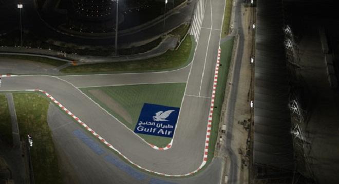 La prima curva del BIC, Bahrain International Circuit di Sakhir: disegnata da Michael Schumacher, ora porta il suo nome
