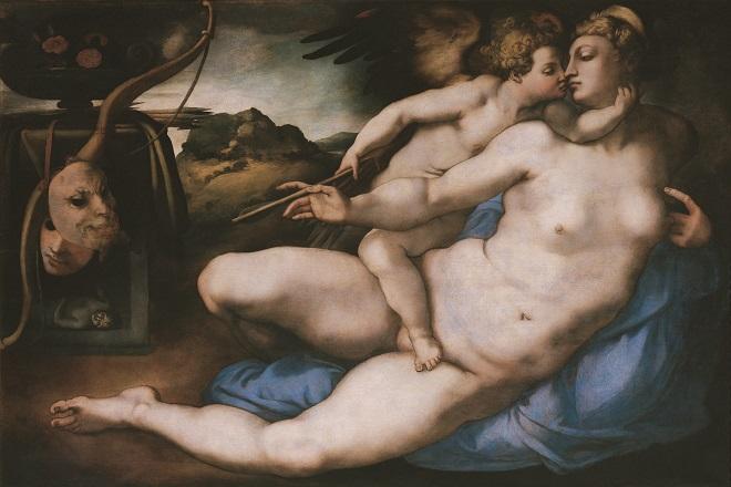 20140308-Venere e Amore di Pontormo
