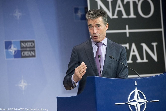 Meetings of the Foreign Ministers at NATO Headquarters in Brussels - Press Conference NATO Secretary General Anders Fogh Rasmussen