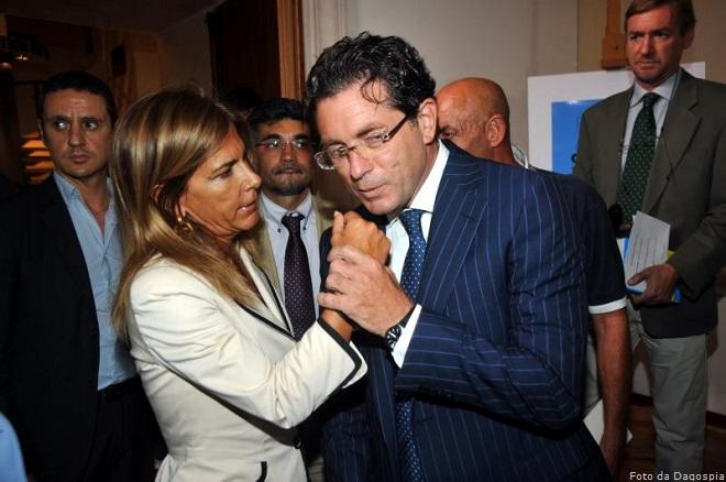Antonello Montante con Emma Marcegaglia (allora presidente di Confindustria)