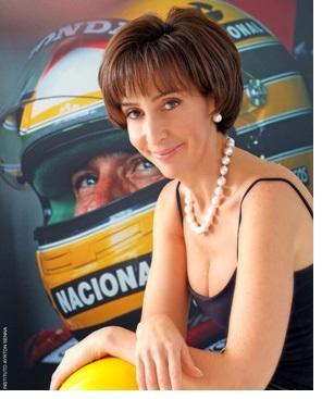 Viviane Da Silva-Lalli, sorella di Ayrton e presidente della Fondazione dedicata al tre volte campione del mondo brasiliano di Formula 1