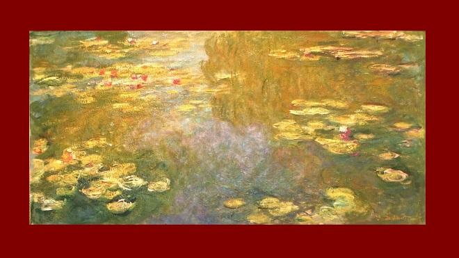 Nympheas, Claude Monet, olio su tela