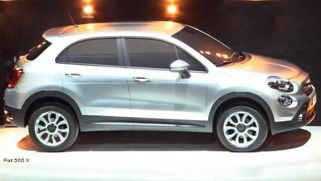 Rendering della Fiat 500X un Suv medio che probabilmente sostituirà la Freemont, ormai nella fase discendente del ciclo di vita