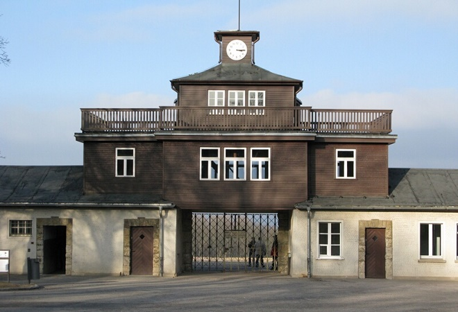 Buchenwald, ingresso del lager