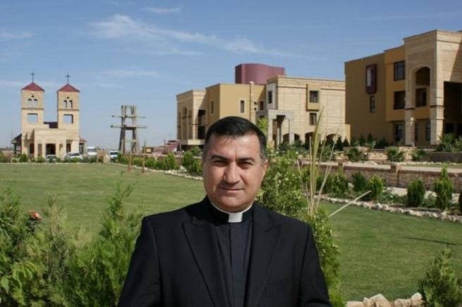 Ll'arcivescovo caldeo di Erbil, Bashar Matti Warda