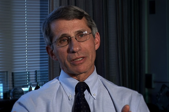 Anthony Fauci, direttore del National Institute of Allergy and Infectious Diseases, che ha seguito il caso di 'Mississipi Baby' ed è impegnato nella ricerca di misure scientifiche per bloccare l'Hiv